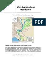 PAKISTAN FLOOD DEMAGE FULL CROP REPORT
