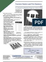 1M_radial Lead Resistors
