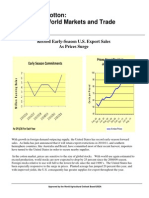 COTTON WORLD MARKET AND TRADE REPORT