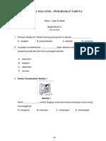 kertas pemahaman ujian mac tahun 6