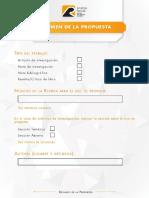 Plantilla Resumen de La Propuesta Revista Prisma Social