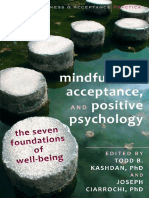 Mindfulness, Acceptance, And Positive Psychology [Dr.soc]