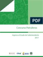 Guía Orientación Concurso Patrulleros - Ingreso Grado Subintendente 2017