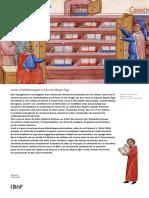 Livres Et Bibliothèques à La Fin Du Moyen-Âge