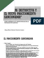 Procedimiento Sancionador - Fiscalización Laboral