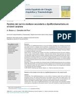 2013 Parálisis del nervio mediano secundaria a lipofibrohamartoma en el túnel carpiano