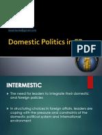 Kln - 4. Domestic Politics in Fp
