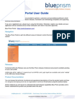 Blue Prism Portal User Guide
