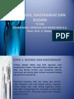 MANUSIA, MASYARAKAT DAN BUDAYA abxm1103.ppt