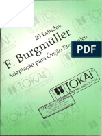 F. Burgmüller - Tokai - 25 Estudos