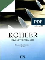 Ana Mary de Cervantes - L. Köhler - 40 Lições