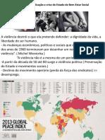 Violência, Globalização e Crise Do Estado de Bem-Estar Social