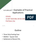 UniSettle – Practical Applications -28 OCT 2016