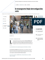 10 Terminales de Transporte Bajo Investigación de La Supertransporte _ Infraestructura _ Economía _ Portafolio