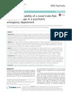 Validity and Reliability CRPT BMC Psychiatry