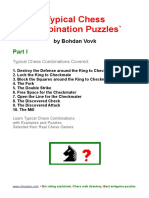 Typical Chess Combi Puzzles