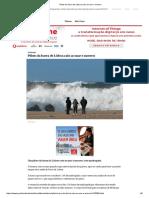 Piloto Da Barra de Lisboa Caiu Ao Mar e Morreu