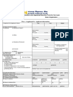 PNB 1055 Application for Vehicle - Car Loan