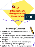 Chapter 1 - Introduction to Management and Organizations