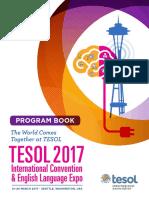 Tesol17 Program Book