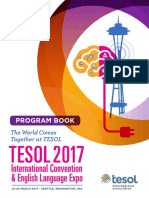 Tesol17 Program Book