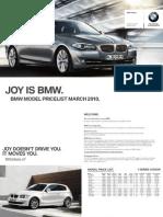 BMWPricelist2010