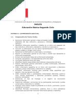 Ed. Básica Segundo Ciclo Inglés