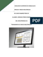 Monografia de Redes de Comunicacion Industrial