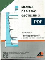 COVITUR- VOL 1- Manual de Diseño Geotecnico.pdf