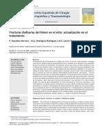 2011 Fracturas diafisarias del fémur en el niño, actualización en el tratamiento