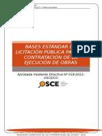 Bases Estándar de Licitación Pública