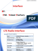 CH(3) - LTE Radio Interface
