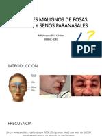 Tumores Malignos de Las Fosas Nasales y Senos [Autoguardado]