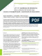 Drug Testing and Analysis.español