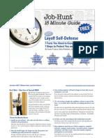 Layoff Self Defense