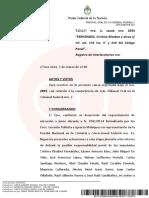 Unifican dos causas por corrupción contra Cristina Kirchner