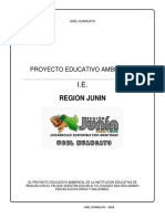 Proyecto Educativo Ambiental-me