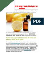 Cura del aceite de oliva y limón.docx
