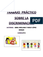 Investigación Sobre La Discriminación de Abril Orellana y Noely López Kesque