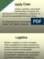 Management - Supply Chain