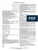 Questões - Microsoft Word 2013.pdf
