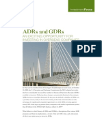 2009 09 ADR-GDR-Exciting Opp for Investing Overseas-Investment Focus