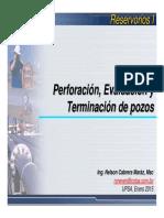 Perforacion Evaluacion y Terminacion de Pozos