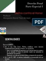 2.- Delitos Contra El Honor