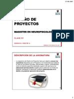 Diseño de Proyectos 01