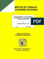 De Colpuertos a Las Sociedades Portuarias. Los Puertos Del Caribe Colombiano, 1990-1999