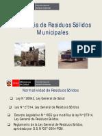 Vigilancia de Residuos Sólidos (DISA Lima ESTE)
