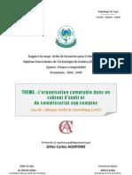 Rapport S - L'Organisation Comptable Cabinet
