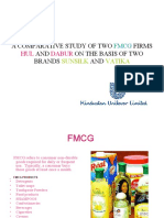 A Comparative Study of Two Fmcg Firms Hul