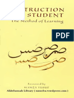 Zarnuji-Talim Al-Mutaallim (Instruction of the Student the Method of Learning)-English